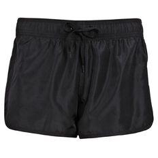 Basics Brand Active Women's Plain Microfibre Shorts