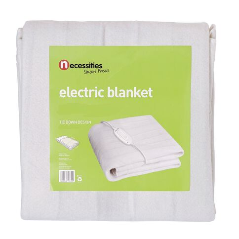 Necessities Brand Electric Blanket Single Small