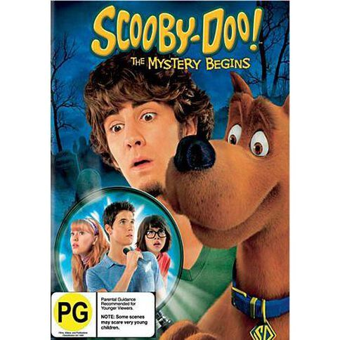 Scooby Doo The Mystery Begins DVD 1Disc
