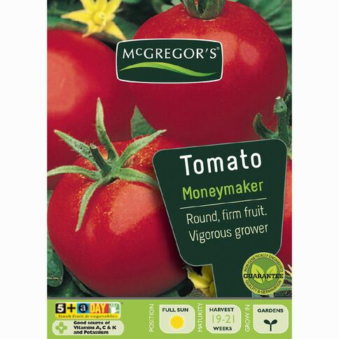 McGregor's Money Maker Tomato Vegetable Seeds