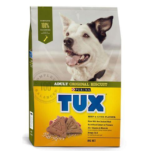 TUX Adult Beef & Liver Dry Dog Food 8kg