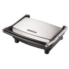 Living & Co Stainless Steel Sandwich Press 2 Slice