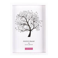 Living & Co Eden Frame White A4