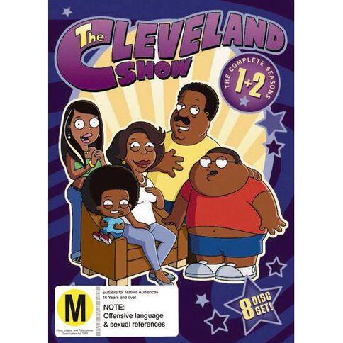Cleveland Show Season 1-2 Box Set DVD 8Disc