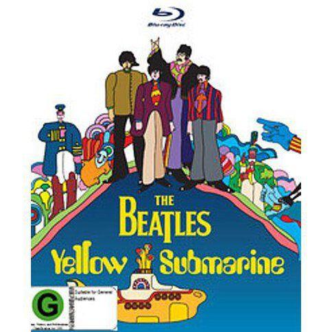 Beatles The Yellow Submarine Blu-ray 1Disc
