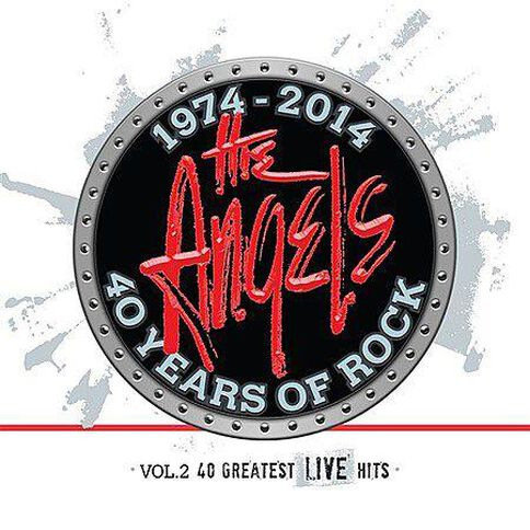 40 Years Of Rock Vol. 2 40 Greatest L CD by Angels The 3Disc
