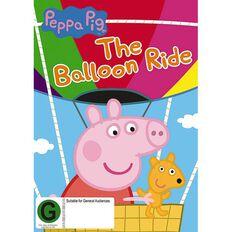 Peppa Pig Balloon Ride DVD 1Disc