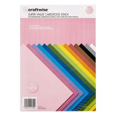 Craftwise Cardstock A4 200g 70 Sheets