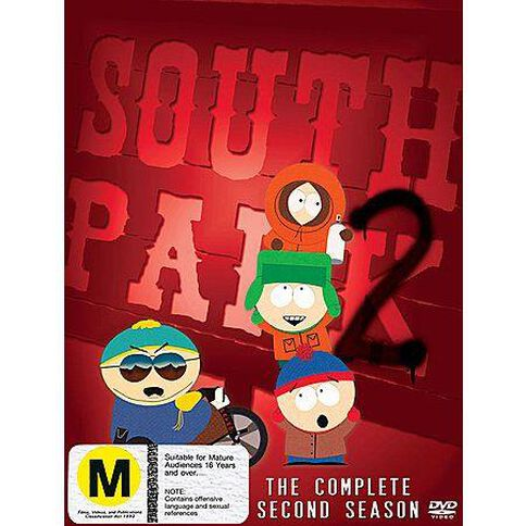 South Park Season 2 DVD 3Disc