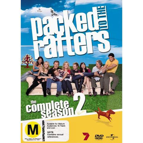 Packed To The Rafters Season 2 DVD 6Disc