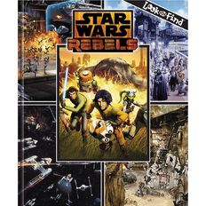 Star Wars Rebels Look & Find Book by P I Kids