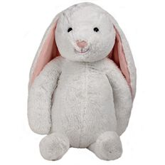 White Bunny Sitting Plush 60cm