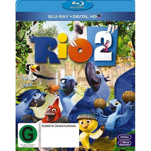 Rio 2 Blu-ray 1Disc