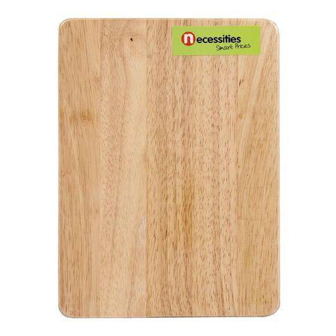 Necessities Brand Wooden Chopping Board 20cm x 27cm x 1cm
