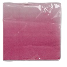 Party Inc Pink Ombre Napkins 20 Pack