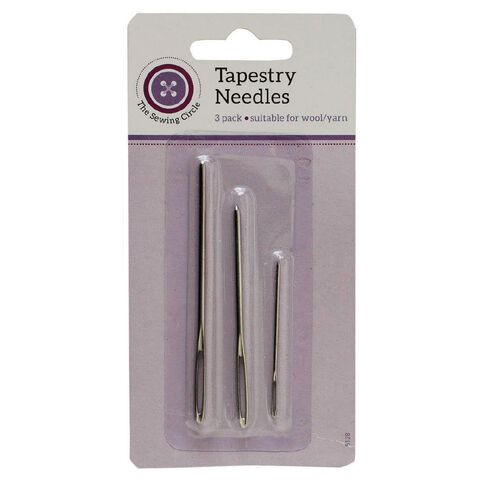 The Sewing Circle Tapestry Needles 3 Pack