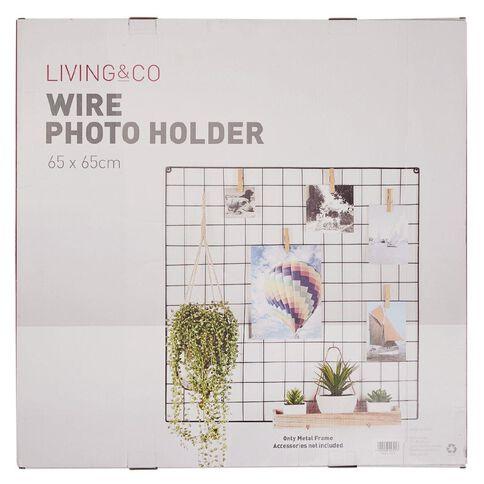 Living & Co Wire Photo Holder 65cm x 65cm