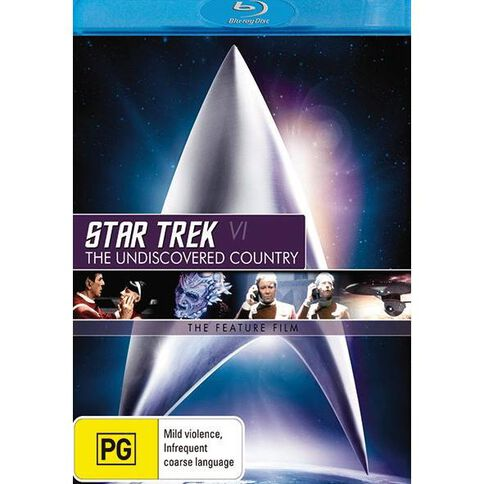 Star Trek 6 Undisc Blu-ray 1Disc