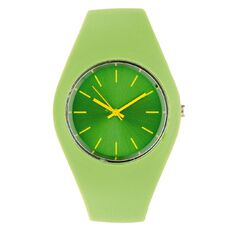 Silicone Watch Green
