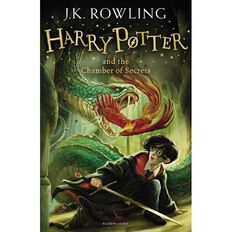 Harry Potter #2 The Chamber of Secrets by JK Rowling