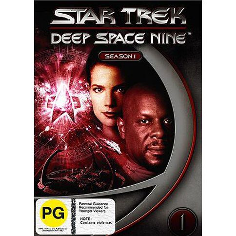 Star Trek DS9 Season 1 DVD 1Disc