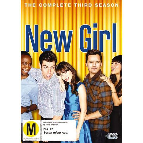New Girl Season 3 DVD 3Disc
