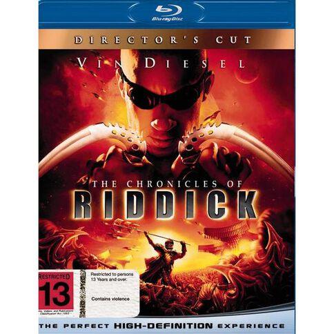 Chronicles of Riddick Blu-ray 1Disc