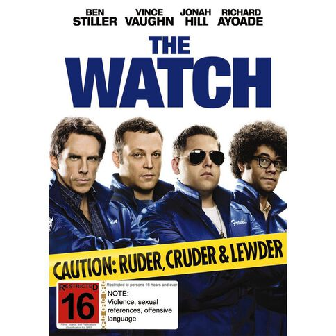 The Watch DVD 1Disc