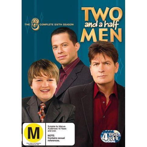 Two and a Half Men Season 6 DVD 4Disc