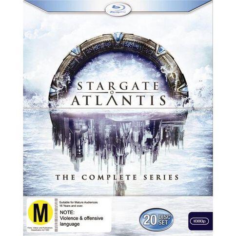 Stargate Atlantis Complete Series Blu-ray 20Discs