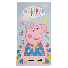 Peppa Pig Beach Towel Holiday 65cm x 120cm