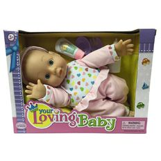 Your Loving Baby Doll with Accessories Assorted