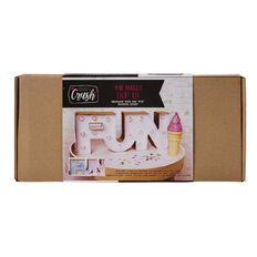 Craft Crush Mini Marquee Light Kit FUN 360mm x 150mm x 50mm