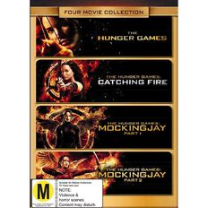 Hunger Games Complete Movie Box Set DVD 4Disc