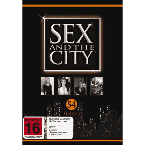 Sex And The City Season 4 DVD 3Disc