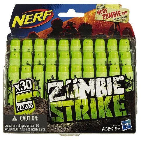 NERF Zombie Deco Dart Refill 30 Pack