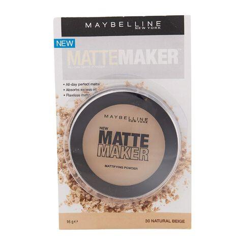 Maybelline Matte Maker Powder Classic Natural Beige