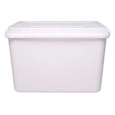 Taurus Clip Easy Container White 12L