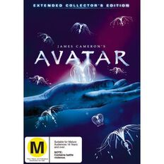 Avatar Extended Edition DVD 3Disc