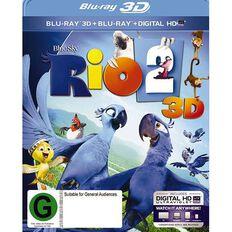 Rio 2 3D Blu-ray 2Disc