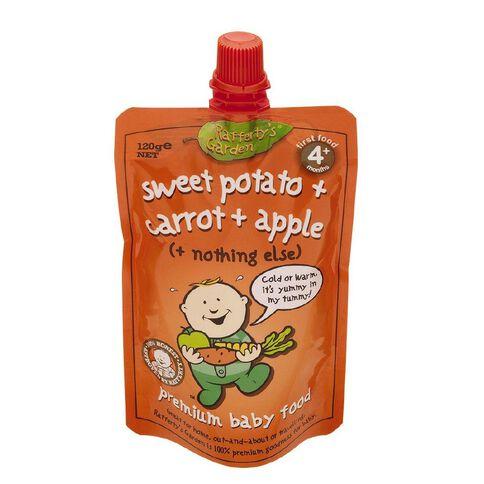 Rafferty's Garden Sweet Potato Carrot & Apple Pouch 120g