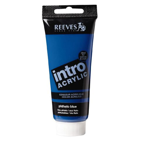 Reeves Intro Acrylic Phthalo Blue 100ml