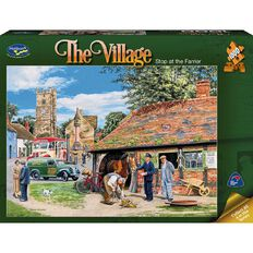 Puzzle The Village 1000 Piece Assorted