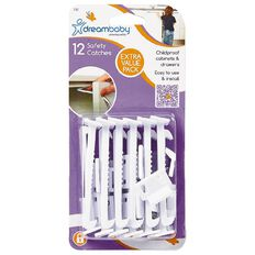 Dreambaby Safety Catches 12 Pack