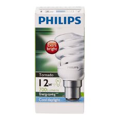Philips Tornado Bulb 12W B22 Cool Daylight 1PF/6
