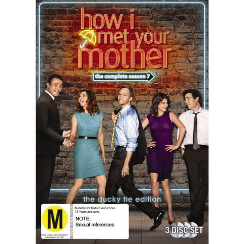 How I Met Your Mother Season 7 DVD 3Disc