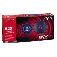 American Hi-Fi 5.25in Speakers 2 Way Coaxial 140 Watt
