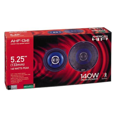 American Hi-Fi 5.25in Speakers 2 Way Coaxial 140 Watt