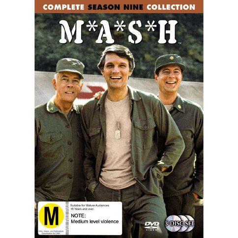 Mash Season 9 DVD 3Disc