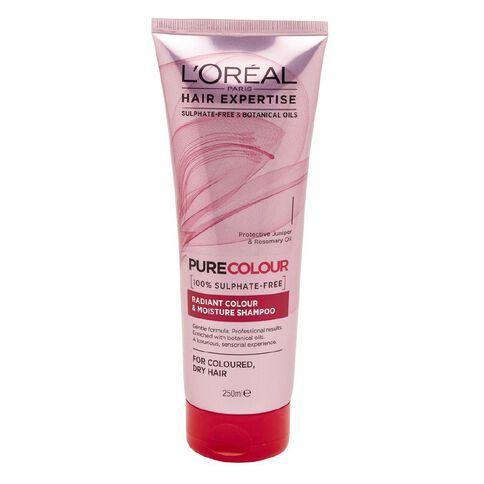 L'Oreal Paris Hair Expertise Shampoo Pure Colour 250ml